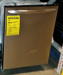 clearance dishwasher